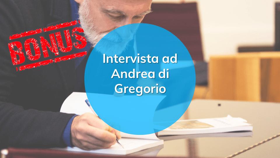 Intervista ad Andrea Di Gregorio
