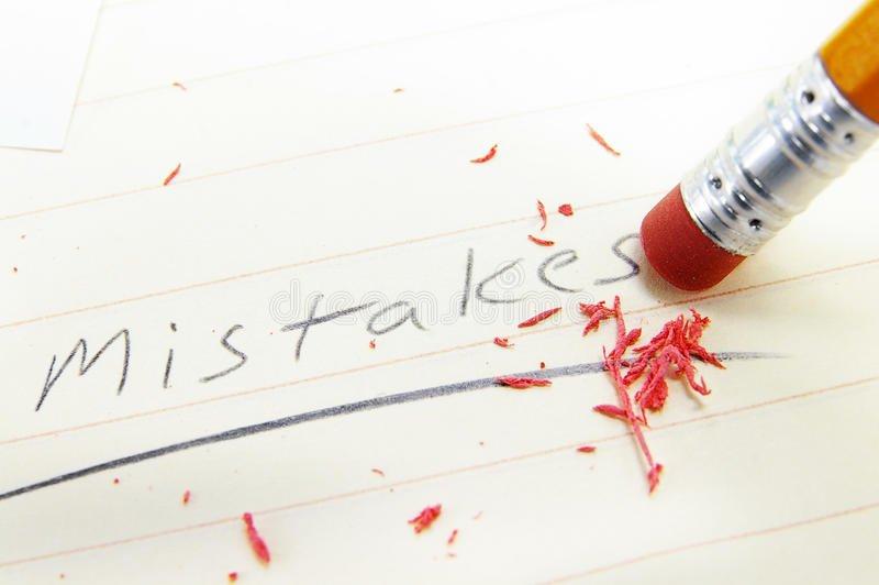 errori da evitare
