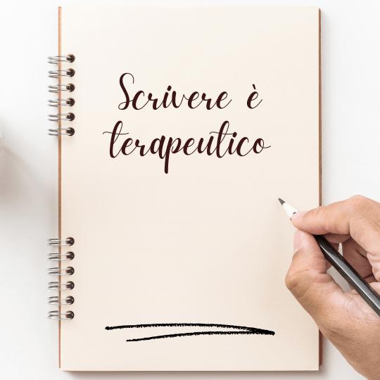 scrivere è terapeutico